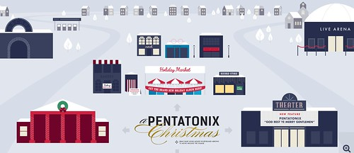 Pentatonix Holiday Village by Wesley Fryer, on Flickr