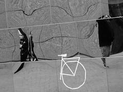 Distortion (Miranda Ruiter) Tags: amsterdam museumplein blackandwhite mirror photography distortion