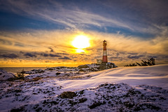 Winters delight (Richard Larssen) Tags: richard richardlarssen rogaland larssen landscape light lighthouse norway norge norwegen nature dalane sony scandinavia sunset sky sel1635z sun winter snow a7ii egersund eigersund emount eigeroy exposure eigerøy eigerøyfyr eigerøylighthouse eigerøya eigeroylighthouse zeiss