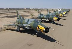 SU-22M 181 CLOFTING CRW_9034 FL (Chris Lofting) Tags: sukhoi su22 181 talara fitter peru peruvianairforce