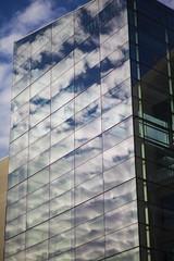Skyknife (eL Bz) Tags: cba clouds windows reflection