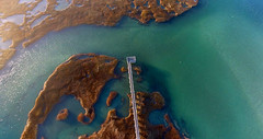 Bass Hole Boardwalk, Cape Cod (Chris Seufert) Tags: capecod yarmouth graysbeach basshole boardwalk aerial drone