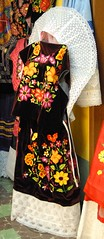 Zapotec Clothing Tehuantepec Oaxaca (Teyacapan) Tags: huipil skirt tehuana zapotec clothing oaxacan mexican embroidered ropa trajes