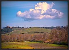 Toscana (NPPhotographie) Tags: nature art creative oberberg italy toscana sky cloudslandscape house castle theunforgettablepictures platinumphoto vanagram