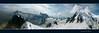 Massif du Mont Blanc (Xtian du Gard) Tags: alpes montblanc montagne mountains panorama landscape france aiguilledumidi picdumidi frenchalpes hiver winter mountaineering hautesalpes glacier sky snow montage nuages clouds ciel hautesavoie chamonix legacyexcellence