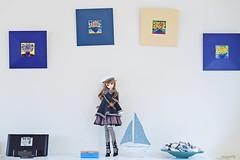 knock on my door (rainwaltz) Tags: bjd abjd balljointeddoll volks super dollfie sdgr sdgrg tae anais sailor blue decor home house living