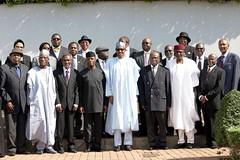 PRESIDENT BUHARI SWEARS IN NEW CJN