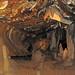 Travertine stalactites & stalagmites (Ohio Caverns, western Ohio, USA) 1