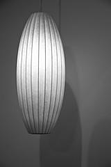 LAMP ...  by the brilliant George Nelson, 1908-1986, Cigar Pendant Lamp (sswj) Tags: lamp light blackandwhite monochromatic jewishdesign sanfrancisco northerncalifornia california bw composition minimalism minimal minimalist fullscreen fullframe dslr nikon d600 nikkor28300mm contemporaryjewishmuseum abstractreality availablelight existinglight shadows modernlightdesign moderndesign contemporarydesign