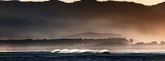 """..Nothing except a great big piece of blue Pacific Ocean"" (landsendula) Tags: nz bluepacificocean mahia whitehorsestorocketlaunching teamoriforspace nikond300 7002000mmf28 mist sunrise landscapeseascape peace"