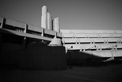Lindemann from the plaza (iMatthew) Tags: brutalism brutalistarchitecture architecture bostonarchitecture boston governmentcenter bw
