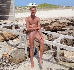 naturist formentera Migjorn (wildone.dk) Tags: ngen naked naturist ngenhud nudist ngenbade nude formentera strand ngenhed naturista fkk