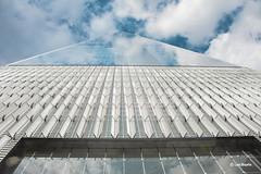One World Trade Center (luisbajanai) Tags: wtc worldtradecenter oneworldtradecenter nikon nikonlens newyork nyc igersny ny clouds skyscraper