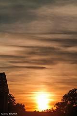 Toute fin de journe (antoinebouyer) Tags: soleil ciel cloud sky nuage temps