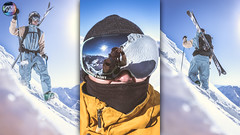 MGM - BRob - MGM @ Obergurgl (Snow Front) Tags: brob maxmeissnerde photo rider cooperation toon volt snowfront snow winter powder voltsnow goggle sunny sun sky bluebird hike climb mountaineering freeski freeride skiing reflection selfie portrait aframe backpack bootpack