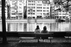 sit and watch the river (gato-gato-gato) Tags: 35mm asph ch iso400 ilford leica leicamp leicasummiluxm35mmf14 mp mechanicalperfection messsucher schweiz strasse street streetphotographer streetphotography streettogs suisse summilux svizzera switzerland wetzlar zueri zuerich zurigo zrich analog analogphotography aspherical believeinfilm black classic film filmisnotdead filmphotography flickr gatogatogato gatogatogatoch homedeveloped manual rangefinder streetphoto streetpic tobiasgaulkech white wwwgatogatogatoch zrich manualfocus manuellerfokus manualmode schwarz weiss bw blanco negro monochrom monochrome blanc noir strase onthestreets mensch person human pedestrian fussgnger fusgnger passant zurich