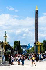 Place de la Concorde & Champs-Élysées (Þorkell) Tags: parís placedelaconcorde frakkland champsélysées paris nikkorafsdx18105mmf3556gedvr theluxorobelisk arcdetriomphe france nikond7000