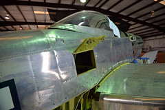 P82 Left Side (Chris Usrey) Tags: douglas ga airport p82 twin mustang restoration aviation flying