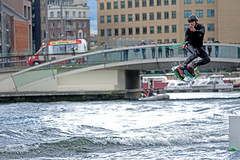 The Jump (Richard Lynam) Tags: jump watersports water dublin action outdoor