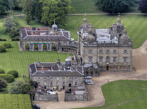 Houghton Hall aerial