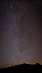 Milky Way Over Hay Tor (AdamJonMartin) Tags: way stars devon milky dartmoor haytor