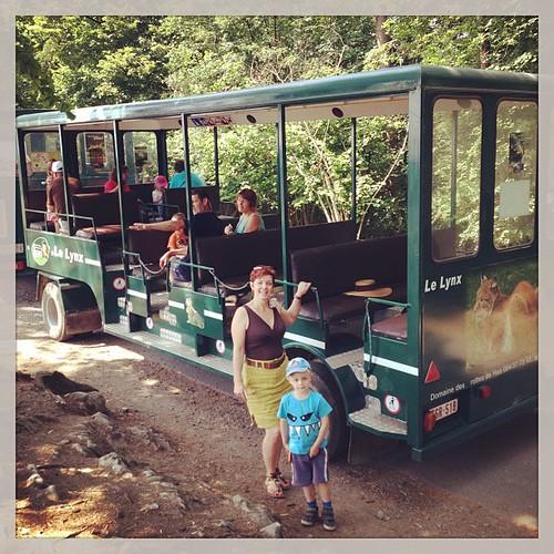 Le safari, Han-sur-Lesse