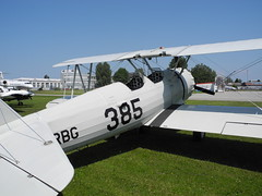 Boeing PT-17 Stearman (flightlog) Tags: aviation boeing altenrhein lszr stearmen hbrbg