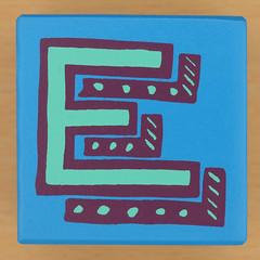Bob and Roberta Smith Alphabet Block E (Leo Reynolds) Tags: canon eos iso100 e letter 60mm f80 oneletter eee letterset 004sec 40d hpexif grouponeletter xsquarex xleol30x xxx2013xxx