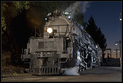 UP 4014 (K-Szok-Photography) Tags: california railroad night canon nightimages socal nightshots canon5d canondslr steamengine railroads steamlocomotive inlandempire steampowered steampower kenszok kszokphotography railgiantstrainmuseum
