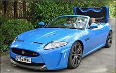 I've got a fast car..... (littlestschnauzer) Tags: new uk blue cars car french amazing model nikon engine fast convertible august racing sound jaguar expensive roar v8 5l supercharge 2013 550bhp d5000 xkrs elementsorganizer11