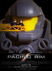 Lego Pacific Rim Poster (XxDeadmanzZ) Tags: show wallpaper motion film silver movie poster star moving silent lego pacific picture cine screen liam talking rim flick feature screenplay videotape celluloid photoplay cinematics talkie cinematograph xxdeadmanzz
