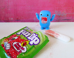 Fun Dip Friday!!! (DollyBeMine) Tags: blue food cute japan toy japanese funny candy domo figure wonka qee fundip