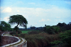 Agra Red Fort आगरा का किला Uttar Pradesh India Taj Mahal and Yamuna River View Feb 1990 075 (photographer695) Tags: taj agra mahal india red fort आगरा का किला uttar pradesh yamuna river view feb 1990