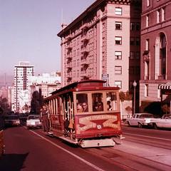 1960's San Francisco (mybelair62) Tags: car san francisco trolley cable 1960s