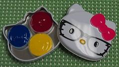 Hello Kitty Watercolor Box (CarolePivarnik) Tags: sketchkit watercolorsketching