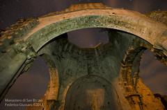 Chiesa di San Bruzio (Giussani Federico) Tags: san chiesa toscana grosseto notte monastero stelle maremma abbazia magliano bruzio startril