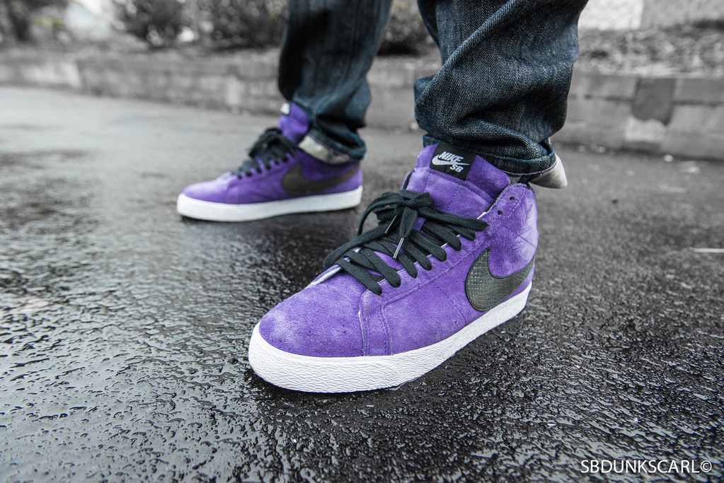 cheap nike sb blazer purple rain sbdunkscarl tags rain bay shoes purple 14  wideangle bb1d3 cc36e 414e2015fda1