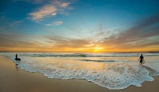 Sunrise, Cronulla beach