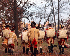 Battle of the Blockhouse, 2013 Reenactment of George Washington's 1776 Retreat to Victory, Fort Lee Historic Park, New Jersey (jag9889) Tags: greatbritain costumes camp music usa ny newyork infantry army freedom newjersey nj battle historic event american revolution pip soldiers artillery hudsonriver british revolutionarywar americanrevolution independence georgewashington reenactment troops 1776 weapons campsite fortlee brigade blockhouse commemoration britishinvasion palisadesinterstatepark bergencounty 2013 continentalarmy fortleehistoricpark zip07024 07024 jag9889 11201776 11232013
