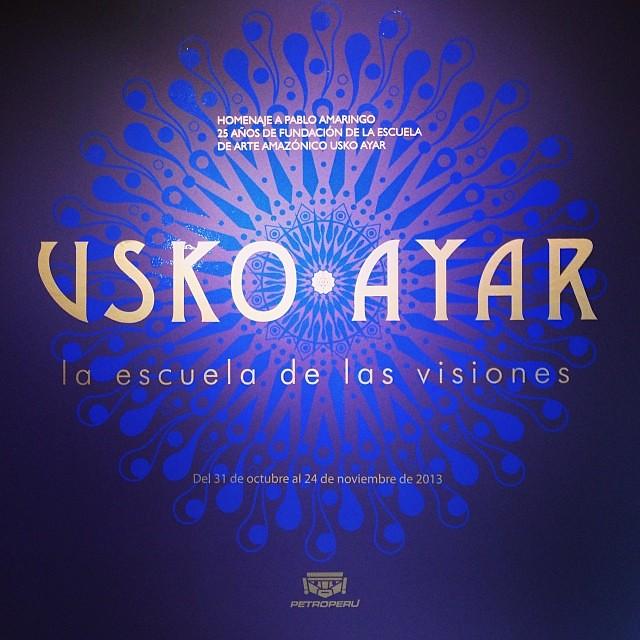 """""""Usko Ayar"""" • """"La escuela de las Visiones"""""""