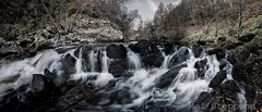 River North Esk (DB166077 C 0pv3-1-HDR copy_average 10.0mm iso200 f11 1s) (Mel Stephens) Tags: uk november autumn panorama water silver river geotagged scotland waterfall rocks long exposure solitude aberdeenshire angus widescreen north olympus panoramic best glen le gps zuiko stitched hdr 43 omd em1 esk ptgui m43 fourthirds q4 glenesk 2013 efex mirrorless mmf3 micro43 microfourthirds 918mm snshdr 201311 20131116