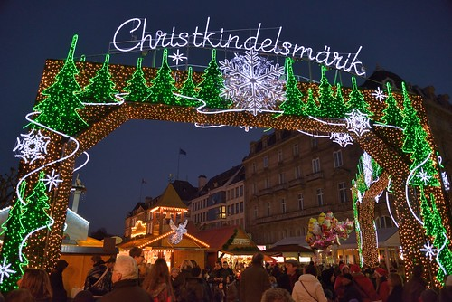 Christmas Market gate