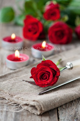 Red roses and candles (Oxana Denezhkina) Tags: wedding light red roses white holiday plant black flower color love nature floral beautiful beauty rose fire candles day candle heart symbol background decoration valentine mothers celebration flame gift massage present valentines romantic bouquet decor spa