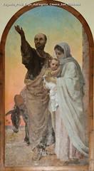 Eugenio Prati Fuga dall'egitto Chiesa San Giovanni