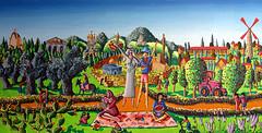 jerusalem naive painting neife Kunst  Malerei      pintura del arte ingenuo         (rafiperetzart) Tags: del painting arte kunst jerusalem naive pintura malerei     ingenuo  neife