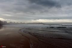 Gijn, el mar. (Eugercios) Tags: sea espaa mar spain espanha europa europe gijn wave asturias olas ondas asturies xixn principadodeasturias