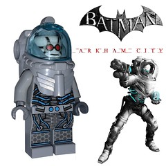 Now on eBay! (Fig-Nation) Tags: city ebay lego victor batman custom asylum printed origins mrfreeze arkham