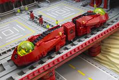 M:Tron Monorail II (Blake Foster) Tags: lego space monorail moc afol classicspace mtron foitsop lego:theme=space lego:scale=minifig