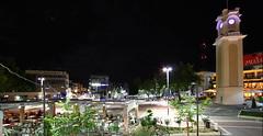 Κεντρική Πλατεία Ξάνθης by night (Photo: Xenofon13)