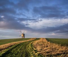 The mill on the hill (grbush) Tags: mill windmill landscape lumix track g3 chesterton warwickshire chestertonwindmill lumixg
